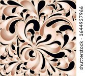 silk texture fluid shapes ... | Shutterstock .eps vector #1644937966