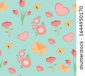 vector seamless pattern for... | Shutterstock .eps vector #1644950170