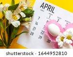 April 2020 Calendar  Cute Pure...