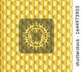bitcoin mining trolley icon... | Shutterstock .eps vector #1644973903