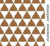 line thai art pattern vector... | Shutterstock .eps vector #164504018