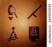 set identification badge ... | Shutterstock .eps vector #1645055059
