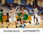 Small photo of Kharkiv, Ukraine - January 24, 2020: Basketball natch of Ukraine Super Liga Kharkiv Falcons - Zaporizhzhya.