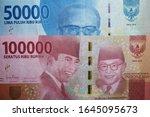 money indonesian rupiah bank... | Shutterstock . vector #1645095673