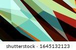 trendy geometric abstract... | Shutterstock . vector #1645132123