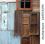 Old Door And Window For...