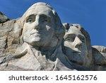 Closeup Of The Sculptures Of...