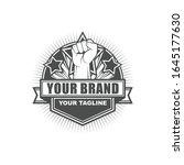 vector logo  badge  emblem ... | Shutterstock .eps vector #1645177630