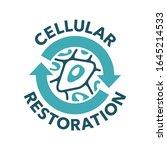 cellular restoration formula... | Shutterstock .eps vector #1645214533