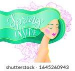 vector abstract illustration of ... | Shutterstock .eps vector #1645260943