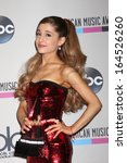 los angeles   nov 24   ariana... | Shutterstock . vector #164526260