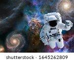 Astronaut Near Mystic Mountain...