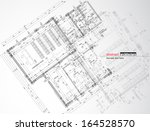abstract architecture | Shutterstock .eps vector #164528570