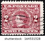 Small photo of USA - CIRCA 1909: A stamp printed by USA shows image portrait of William Henry Seward. He served as the 12th Governor of New York, U.S. Senator and the U.S. Secretary of State, circa 1909.
