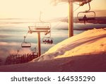 ski resort | Shutterstock . vector #164535290