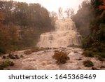Chittenango Falls On A Rainy...
