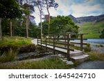 Footbridge Over Small Stream...