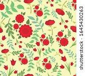 vector seamless pattern of... | Shutterstock .eps vector #1645430263