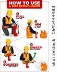 How To Use Fire Extinguisher...