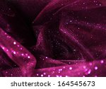 purple  elegant  creased silk... | Shutterstock . vector #164545673