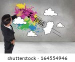 composite image of asian... | Shutterstock . vector #164554946