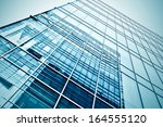 panoramic and perspective wide...   Shutterstock . vector #164555120
