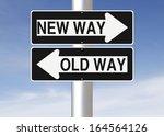 Conceptual One Way Road Signs...