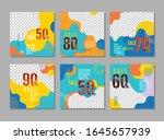 social template  poster sale ...   Shutterstock .eps vector #1645657939