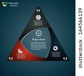 vector infographic elements.... | Shutterstock .eps vector #164566139