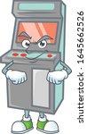 arcade game machine mascot icon ... | Shutterstock .eps vector #1645662526
