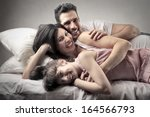 parents and child | Shutterstock . vector #164566793
