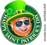 a happy st patricks day design... | Shutterstock .eps vector #1645681309