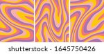 retro psychedelic abstract art... | Shutterstock .eps vector #1645750426