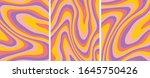 retro psychedelic abstract art...   Shutterstock .eps vector #1645750426