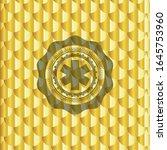 emergency cross icon inside... | Shutterstock .eps vector #1645753960