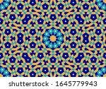 morocco seamless pattern.... | Shutterstock . vector #1645779943