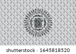 cooking pot icon inside silver... | Shutterstock .eps vector #1645818520