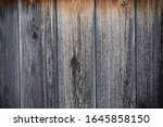 detail of dark wood wall...   Shutterstock . vector #1645858150
