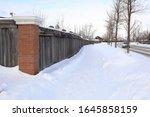 a perfect suburb neighborhood...   Shutterstock . vector #1645858159