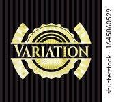 variation shiny badge. vector... | Shutterstock .eps vector #1645860529