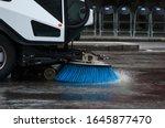 Road Sweeper Vehicle  London  Uk