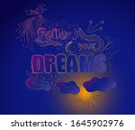 inscription  a graphic pattern. ...   Shutterstock .eps vector #1645902976