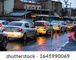 Car Traffic At Rush Hour On Th...