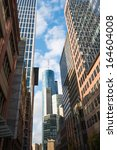 frankfurt city skyscraper | Shutterstock . vector #164604008