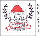 Vector Greeting Card With The...