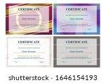 certificate of appreciation... | Shutterstock .eps vector #1646154193
