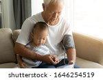 Chinese Grandfather Playing...