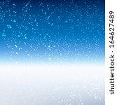 winter background. vector... | Shutterstock .eps vector #164627489