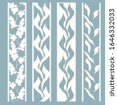 set of bookmark templates....   Shutterstock .eps vector #1646332033