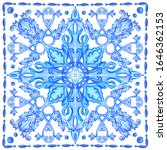 azulejos   portuguese dutch and ... | Shutterstock .eps vector #1646362153